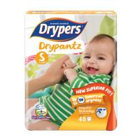 Drypers Baby Diaper Dry Pants Jumbo Size-S 48pcs