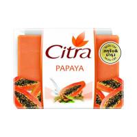 CITRA BAR SOAP PAPAYA 110G