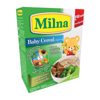 Milna Baby Cereal Chicken Liver & Broccoli 120g