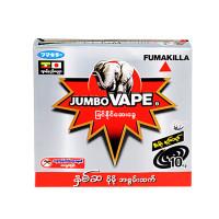 JUMBO Vape SUPER 6 MOSQUITO COIL FUMAKILLA 10pcs