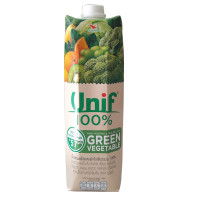 Unif 100 % Fruit Juice Green Vegetable Mixed 1ltr