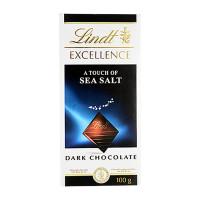 Lindt Excellence Sea Salt Dark Chocolate 100g