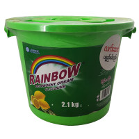 Rainbow Detergent Cream Green 2.1kg