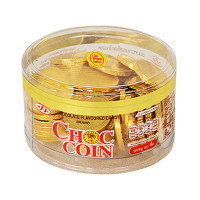 Choc Coin Chocolate Gold 168g