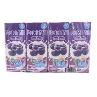 Dutch Mill Uht Drinking Yoghurt Blueberry Flavor 180ml*4