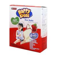 Happy Bites Rice Rusks Apple 50g