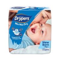 Drypers Baby Diaper Jumbo 64pcs