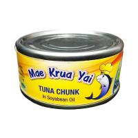 Mae Krua Yai Tuna Chunk in Soyabean Oil 160g