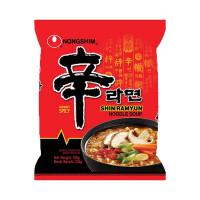 Nong Shim Instant Noodle Shin Ramyu Hot & Spicy 120g
