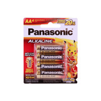 Panasonic Alkaline Battery LR6T 4B 4Pcs