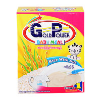 Gold Power Baby Cereal Rice with Milk 300g