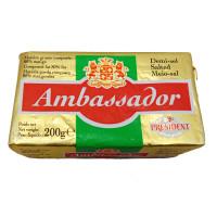 President Ambassador Salted Butter 80% 200g