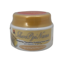 Shwe Pyi Nann Whitening Thanakha Pudding Face Cream with Vitamin E & SPF 20 25ML