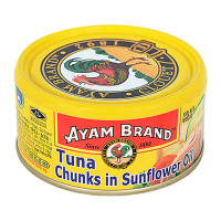 AYAM TUNA CHUNKS IN SUNFLOWER OIL 150G