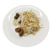 Three Sour Pickled (Bean sprounts , White Radish , Marian )