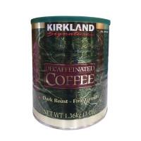 Kirkland Signature Decaffeinated Coffee  Dark Roast Fine Grind 3lb/1.36kg