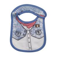 Baby Saliva Towel Blue