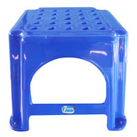 7 Stars Blue Plastic Stool Small Code 501