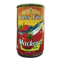 Boss Fish Mackeral in Tomato Sauce 155g