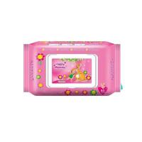 Happy Mammy Baby Wipes 80 pcs (Pink)