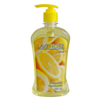 Lavender Hand Wash Pump Bottle Lime 500ml