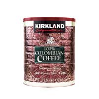 Kirkland Signature Colombian Coffee Supremo Bean Dark Roast Fine Grind 3lb/1.36kg