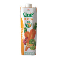 Unif 100% Fruit Juice Carrot Mixed 1ltr