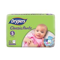 Drypers Baby Diaper Pants Classic Size-S 22pcs