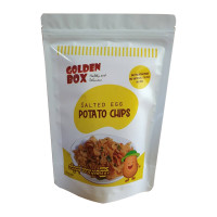 Golden Box Salted Egg Potato Chips Sweet 100g