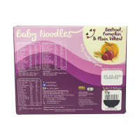 Love Earth Baby Noodles Organic Beetroot, Pumpkin & Plain Wheat For 7months and above 180g