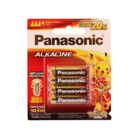 Panasonic Alkaline Battery LR03T 4B 4Pcs