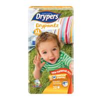 Drypers Baby Diaper Dry Pants Jumbo Size-Xl 32pcs