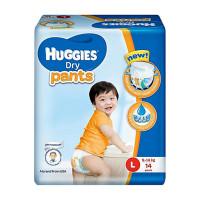 Huggies Baby Diaper Dry Pants Eco Size L 14pcs
