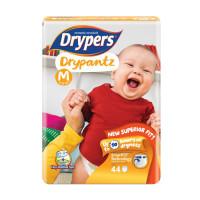 Drypers Baby Diaper Dry Pants Jumbo Size-M 44pcs